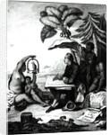 Pierre Sonnerat Drawing a Bird by Pierre Sonnerat