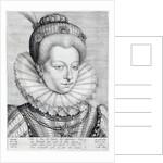 Portrait of Catherine Henriette de Balzac d'Entragues, marquise de Verneuil by Hieronymus or Jerome Wierix