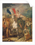 Study for 'Liberty' by Louis Boulanger