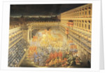 Festival in Honour of Queen Christina Of Sweden at the Palazzo Barberini by Filippo Lauri