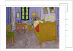 Van Gogh's Bedroom at Arles by Vincent van Gogh