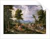 Entering the Ark by Isaak van Oosten