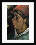 Head of a Dutch Peasant by Vincent van Gogh