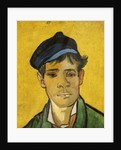 Young Man with a Hat by Vincent van Gogh