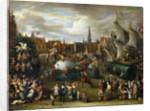 A Festival at Antwerp by Alexander van Bredael