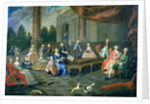 A Family Concert at Chateau Renescure by French School