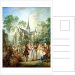 The Wedding Dance by Nicolas Lancret