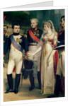 Napoleon Bonaparte Receiving Queen Louisa of Prussia at Tilsit by Nicolas Louis Francois Gosse