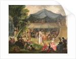 Fete at Colisee near Lille by Francois Louis Joseph Watteau