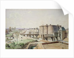 The Bastille in 1420 by Theodor Josef Hubert Hoffbauer
