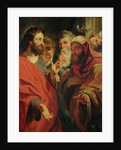 Christ Instructing Nicodemus by Jacob Jordaens