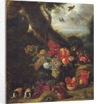 Fruit and Animals by Abraham Brueghel