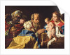 Adoration of the Magi by Matthias Stomer