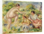 Young Girls in the Countryside by Pierre Auguste Renoir
