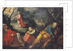 Christ in the Garden of Olives by Jeremie Le Pilleur