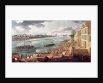 View of Paris from the Quai de la Rapee by Pierre-Denis Martin
