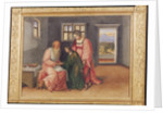 Isaac Blessing Jacob by Girolamo da Treviso II