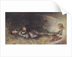 Joan of Arc Asleep by George William Joy