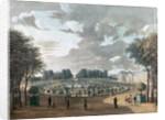 The Luxembourg Gardens by Henri Courvoisier-Voisin