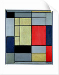 Composition I, 1920 by Piet Mondrian