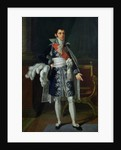 Portrait of Anne Savary Duke of Rovigo by Robert Lefevre