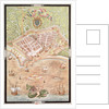 Fascimile of a Plan of Le Havre in 1583 by Jacques Devaulx