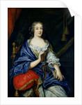 Portrait of Francoise-Louise de la Baume le Blanc Duchesse de Vaujour, called Mademoiselle de la Valliere by Jean Nocret
