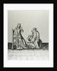 Blanche de Castille Queen of France and her Son Louis at his Studies by French School