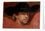 Portrait, presumed to be the artist by Francisco Jose de Goya y Lucientes