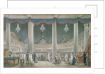 Exhibition of the Products of Industry in the Courtyard of the Louvre in 1801 by French School