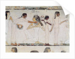 The Toilet of Noblewomen by Egyptian 18th Dynasty