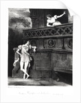 Scene from Act III of 'Romeo and Juliet' by William Shakespeare by Achille Deveria