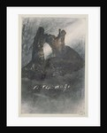 Ruins at Groz-Nez, Jersey, or The Arch by Victor Hugo
