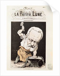 Caricature of Victor Hugo by Andre Gill