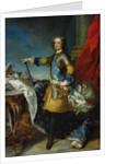 Portrait of Louis XV King of France by Jean-Baptiste van Loo