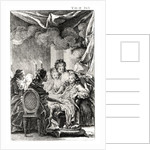 Scene from 'L'Ingenu' by Voltaire by Charles Monnet
