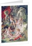 Genius Teaching the Arts by Francois Boucher