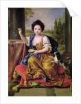 Marie-Anne de Bourbon Mademoiselle de Blois, Blowing Soap Bubbles by Pierre Mignard