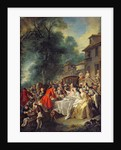 The Hunt Lunch by Jean Francois de Troy
