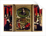 The Triptych of Moses and the Burning Bush by Nicolas Froment