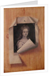 Trompe l'Oeil Portrait of a Lady by Edwaert Colyer or Collier