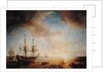 Expedition of Robert Cavelier de La Salle in Louisiana in 1684 by Jean Antoine Theodore Gudin