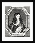 Portrait of Louis XIII engraving by Jean Morin by Philippe de Champaigne