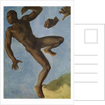 Study of a Nude Negro by Theodore Chasseriau
