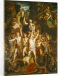 The Defence of Gaul by Theodore Chasseriau