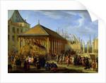 Jean-Baptiste Colbert Marquis de Seignelay and Louis Victor de Rochechouart Duc de Vivonne by Jean Baptiste I de La Rose