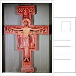 The Crucifix of St. Damian by Italian School
