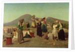 The Excavations at Pompeii by Edouard Alexandre Sain