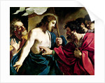 The Incredulity of St. Thomas by Guercino