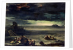 Scene of the Deluge by Theodore Gericault
